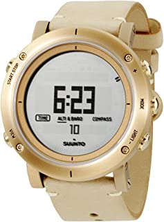 Suunto - SS021214000 - Reloj de Pulsera Digital para Hombre (Cuarzo, Piel)