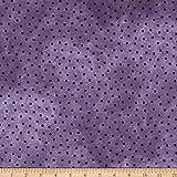 Maywood Studio 0677631 Woolies Flannel Polka Dots Purple