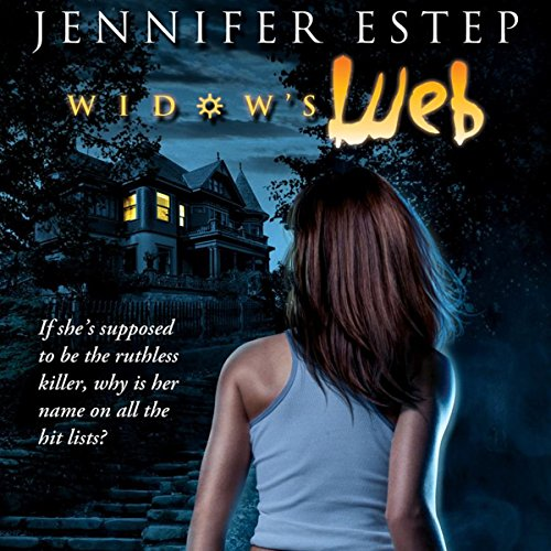 Widow's Web audiobook cover art