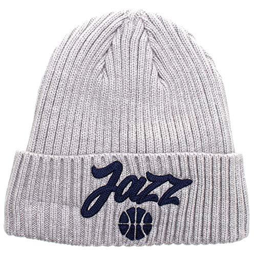 New Era Utah Jazz NBA 2020 Draft Knit Beanie Gris