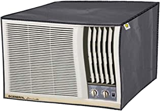 Yellow Weaves™ 100% Waterproof and Dust Proof Window AC Cover for 1.5 to 2.0 Ton Window AC