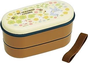 Bento: Studio Ghibli Totoro Design 2-tier Microwavable Lunch Box (Volume: 380ml, 250ml)