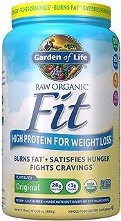 Best Garden of Life Raw Organic Fit Powder, Original - High Protein for Weight Loss (28g) plus Fiber, Probiotics & Svetol, Organic & Non-GMO Vegan Nutritional Shake, 20 Servings Review