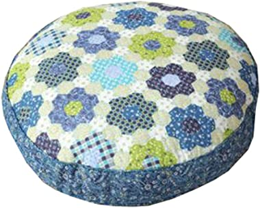 "Dragon Troops Thicken Round Floor Pillow Cushion Japanese Style Futon Seat Cushion 21.6"",A10"