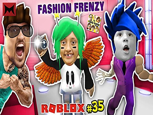 Roblox Fashion Frenzy! Silly Famous Celebrity Dress Up Game! Chase vs Lexi vs Duddy!