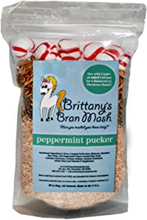 Improved Formula! Bran Mash Horse Treats. Now with 3 Types of Added Calcium for a Balanced Ca:Phosphorus Ratio