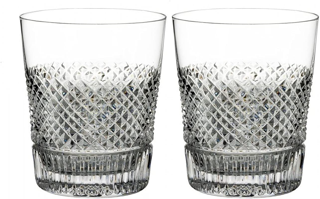 Waterford Diamond Line DOF Set Of 2