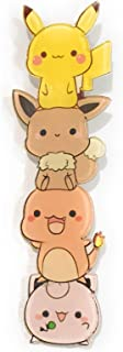 Kawaii Eevee Charmander Jigglypuff Togepi Squirtle Psyduck Pikachu Backpack Small Cute Pin Stacked Characters Colorful Unique