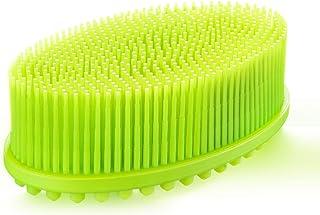 weikin Silikonowa myjka do ciała, dobrze złuszczająca luffa, szczotka do kąpieli łatwa do czyszczenia pod prysznicem, mięk...