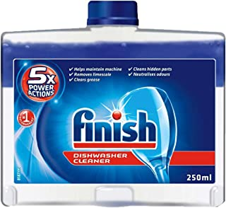 Finish Liquid Dishwasher Cleaner, 250ml