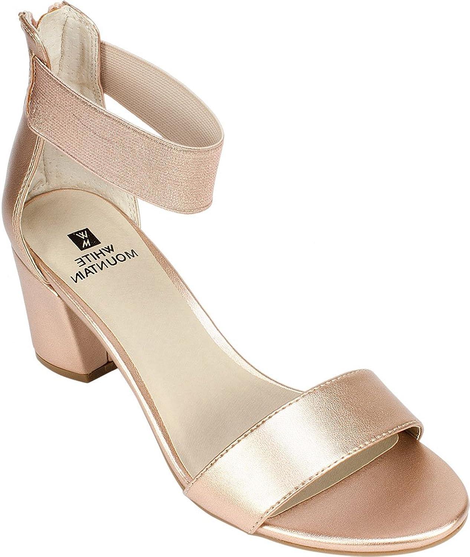 White Mountain Women's Ermaline Ankle Strap Sandal
