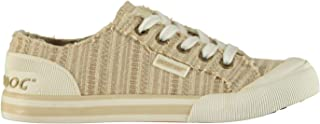 Official Brand Rocket Dog Jazzin Womens Canvas Trainers Shoes Ladies Casual Footwear