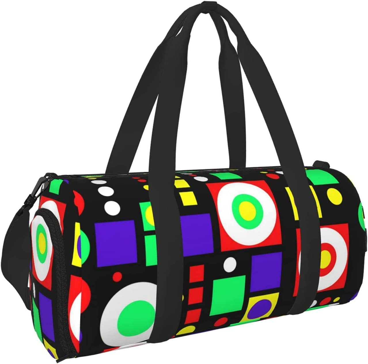 Ranking TOP15 Vjkrm Multicolor Indefinitely Pattern Series Sports Gym Travel Bag Duffel