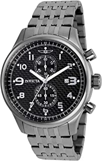 Men's 0368 II Collection Gunmetal Ion-Plated Stainless Steel Watch