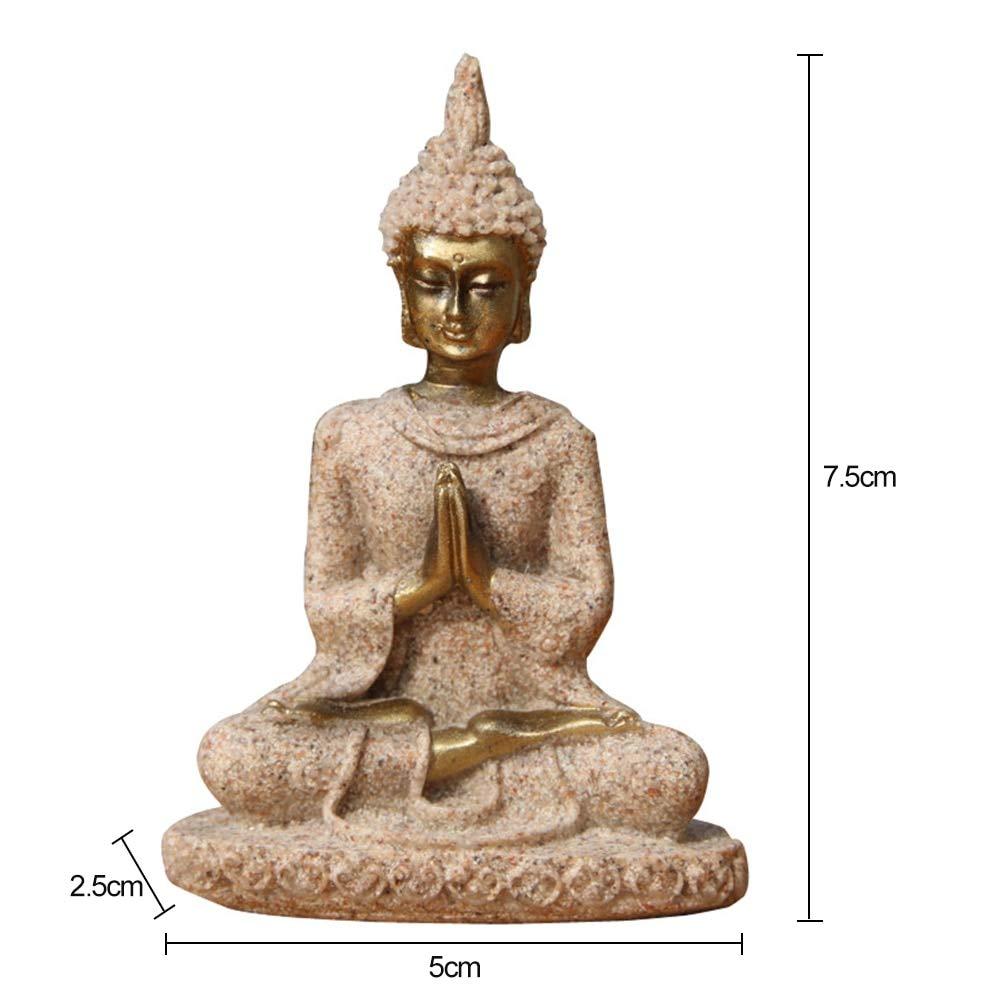 LKXZYX Boda Decoracion Buda budas Figuras de Grandes Salon ...
