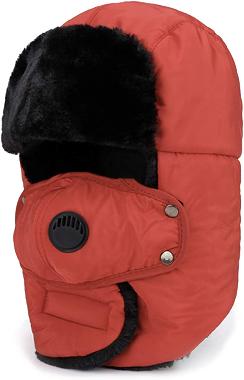 Outlet ☆ Free Shipping HOPENE Trapper Hat Full Coverage Windproof with Mask Hats Ranking TOP10 Winter