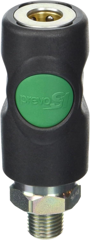 Prevost PRVESI071251S Safety Coupling 1 Atlanta Mall MNPT High Flow Popular brand 4