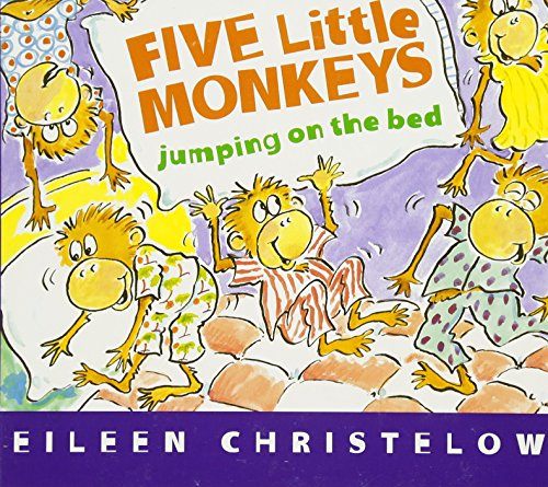 Five Little Monkeys Jumping on the Bed (board book) (A Five Little Monkeys Story)