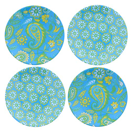 6 Inch Dessert Plates Butter and Bread Plates - Set of 4 - Multi
