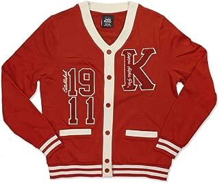 Kappa Alpha Psi Men's Lightweight Cardigan Crimson