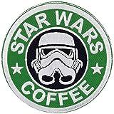 スター・ウォーズ・コーヒー STAR WARS COFFEE アイロン ジョーク パッチ