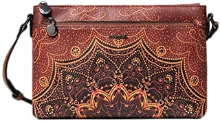 Luxury Fashion | Desigual Womens 19WAXP86BROWN Brown Shoulder Bag | Fall Winter 19