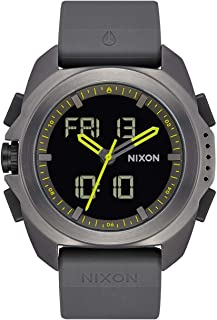 NIXON Ripley 23mm PU/Rubber/Silicone Band 33.5mm Face