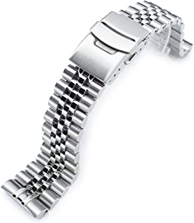 22mm Super Jubilee 316L SS Watch Bracelet for Seiko New Turtles SRP777 SRPA21 Brushed