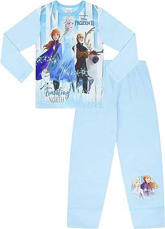 5-6 Years Disney Frozen 2 Pyjamas 3 4 5 6 7 8 9 10 Years Olaf Anna Elsa Hans Sven w19