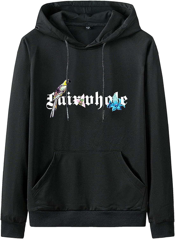 Hoodies for Men Fashion Pullover Sweatshirts Plus Size Pocket Hoodie Autumn Winter Essentials