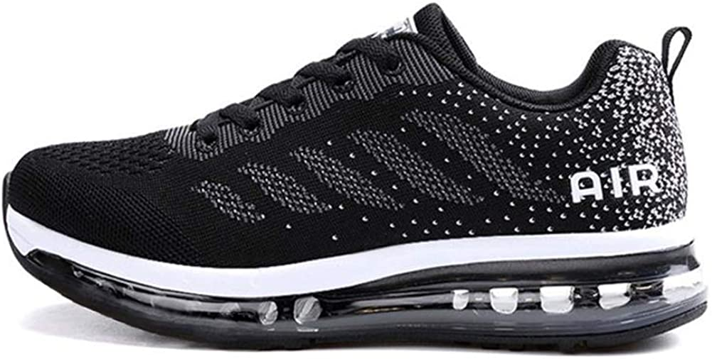 Axcone Men Women Sports Shoes Running Sneakers Trainers Air Cushion Fitness Athletic Walking Gym