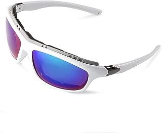 Polarized Sports Sunglasses for men women Cycling running driving Baseball Fishing Golf Superlight Frame
