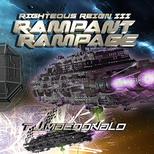 Rampant Rampage audiobook cover art