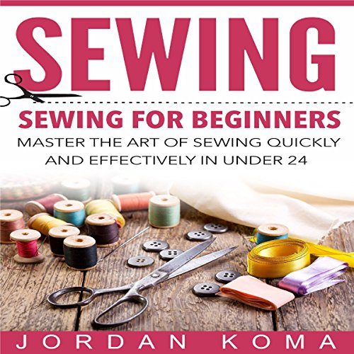 Sewing for Beginners audiobook cover art