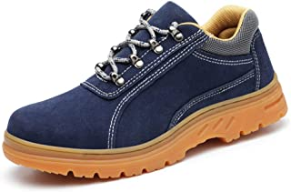 SHANLEE Men's Labor Insurance Shoes, Non-Slip Work Shoes, Breathable and Wearable Shoes