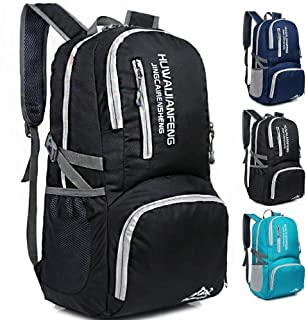 Mixi Lightweight Packable Backpack Water Resistant Hiking Daypack,Small Backpack Foldable Camping Outdoor Backpack