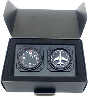 GMT World Timer with Turning Plane Black, Fighter gifts
