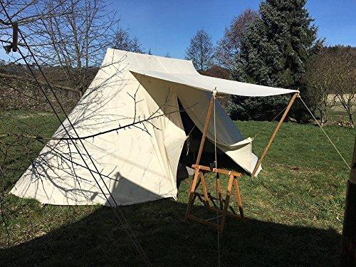 Zelte-Max Mittelalterliches Saxon - Tent Doppelglockenzelt Glockenzelt Sachsenzelt Mittelalterzelt