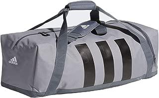 Adidas 3-Stripes Medium Duffle Bag Grey