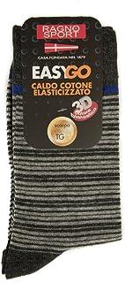 RAGNO SPORT Calza uomo corta calzino basso calzini in caldo cotone articolo 09403C