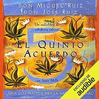 El quinto acuerdo [The Fifth Agreement] audiobook cover art