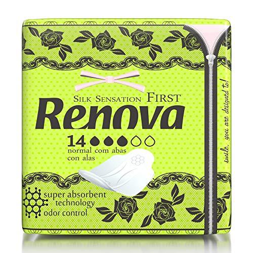 Renova First Compresas Normal Con Alas - 14 Compresas