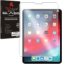 TECHGEAR iPad Pro 11 Matt Panzerglas - Matte Blendschutz Panzerglas Auflage, Original-gehärtetes Glas-Displayschutzfolie kompatibel mit iPad Pro 11 Zoll