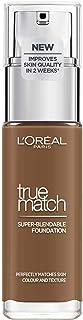 L'Oréal Paris True Match Foundation 10.W Deep Golden - L'Oréal Foundation met Hyaluronzuur & Natuurlijke Dekking, met SPF ...