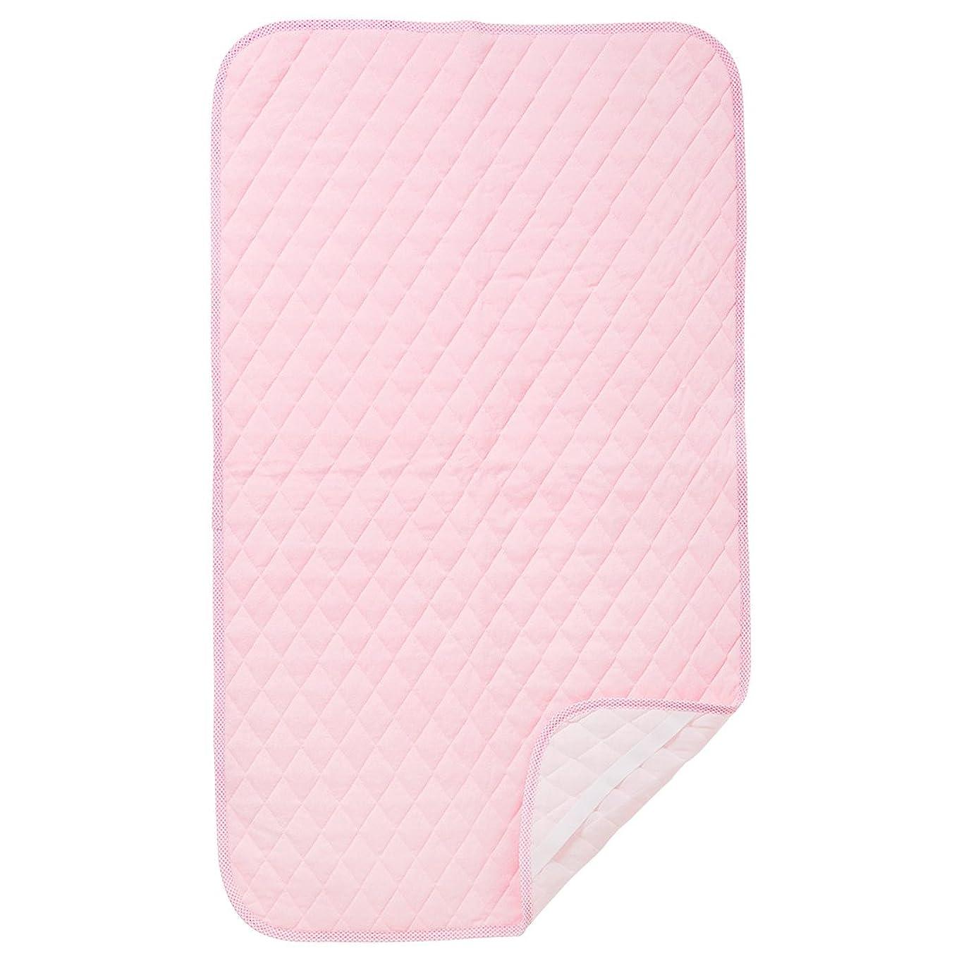 もう一度ラフレシアアルノルディ味西松屋 (EFD)吸水速乾 敷きパッド 70×120cm ピンク