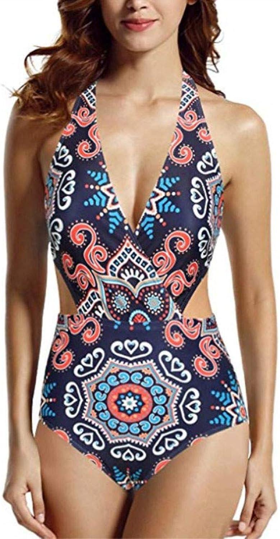 SYT swimwear Einteiliger Badeanzug mit sexy sexy sexy Rückenfreier einfarbiger Halsausschnitt B07Q8RYFTC  Neues Produkt a7675f