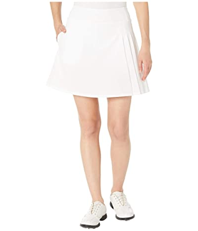 Callaway Side Pleat Skort (Brilliant White) Women