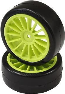 Kyosho FAT302KG Drift Tire Pre-glued/F-Green (2) : Fazer VE-X