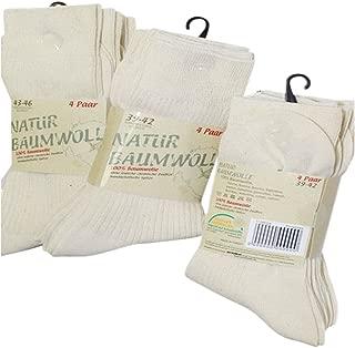 8/paires de chaussettes 100//% coton naturel Pour les chaussures de sport et les chaussons Sans couture et r/ésistantes