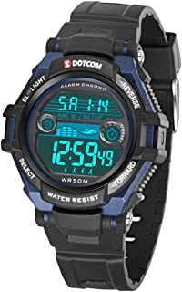 Functional Sports Watch for Young Child, Boys Girls Digital Watch with Time, Date, Alarm, Chime, Stopwatch, Backlight, Waterproof Swimming Outdoor Sports Kids Wrist Watch